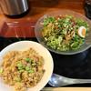 宝喜 - 料理写真:冷製担々麺 炒飯付