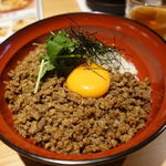 69651485 - そぼろ丼(大盛無料) 1100円