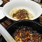 69651883 - 刀削麺、麻婆豆腐がけ