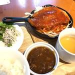 東京オーブン - 宮崎まるみ豚の厚切りステーキ