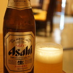 玉家 - 瓶ビール、スーパードライでした(2017.7.6)