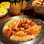 69653408 - 焼き菓子(マドレーヌ・フィナンシェ・クッキー)@フィナンシェがバターたっぷりで一番好きな焼き菓子でした