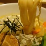 玉家 - 太い手打ちのもっちり麺(2017.7.6)