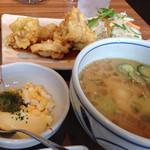 やよい軒 - 料理写真:冷汁ととり南蛮定食(890円)