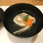 和旬 撫子 - たまご豆腐のお吸い物♪
