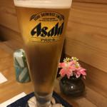 和旬 撫子 - 乾杯はビール♪