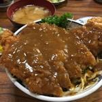 69658428 - デミソースカツ丼