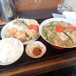 四季 - 料理写真:チャンポン定食 1130円
