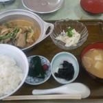 69659795 - もつ炒め定食 780円