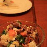 6966015 - 本日のオススメ「ホタルイカと野菜のマリネ」