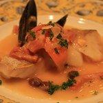 ラ・マンチャ - レギュラーメニュー「白身魚のカタラーナ風」(オレンジソース)