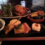 香茶庵 - 香茶庵セット 1200円