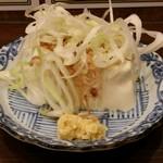 立呑み ひなどり - 冷奴(250円)