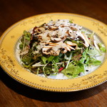 ODECO - 森崎農園さんの有機ハーブとマッシュルームのサラダ