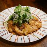 ODECO - 岩手県十文字鶏でパクチーチキン