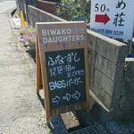 ビワコ・ドーターズ - 看板
