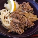 はやし家製麺所 - 料理写真:肉ぶっかけうどん冷