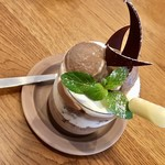 tete cafe - 料理写真:チョコレートパフェ