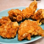 吉林菜館 - 鶏の唐揚げ