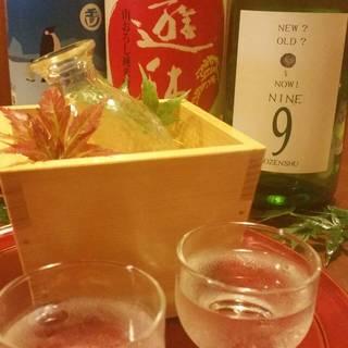 スタッフが気に入った日本酒を期間限定で仕入れます‼