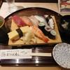 まつば寿司 - 料理写真:にぎり一人前¥730-