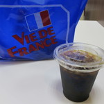 ヴィ・ド・フランス - アイスコーヒーをイートイン