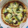 ミノールマルシェ - 料理写真:チキンと野菜のタル照りピザ