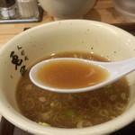 人形町 兎屋 - スープ割り
