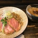 自己流ラーメン綿麺 - つけ麺250g→200gへ