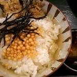 大坂おでん 久 - 出汁茶漬け♪鯛味噌が変わってて美味しかった♪
