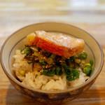 二代目 白神 - 金目鯛オンザ洗い飯