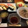 末廣寿司 - 料理写真:お寿司メインのおろしそばセット