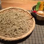 志庵 - 素揚げ野菜蕎麦