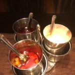エリックサウス 東京ガーデンテラス店 - ふりかけ、漬け物、辛味調味料のセット