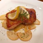 チェターラ - ハーブでマリネした鶏モモ肉