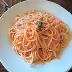ラ・タベルナ - 紅ズワイガニのクリームスパゲッティー