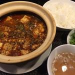 69678382 - 四川麻婆豆腐のランチセット