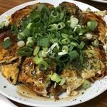 宝来屋 - トップフォト 三次唐麺焼 ねぎ、イカ天トッピング