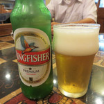タンドゥーリ - 「インドビールください!」 と言ったら、出てきたキングフィッシャー。