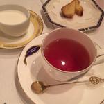 ブラッセリー ブルゴーニュ - 食後のお紅茶