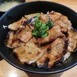 豚大学 - 豚丼650円
