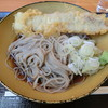 いわもとQ - 料理写真:豚天そば450円