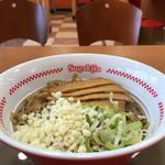 スガキヤ - 料理写真:ぶっかけ冷やし麺(税込390円)(2017.07現在)