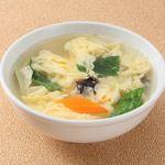 蓮香園 - さっぱりたまごスープ