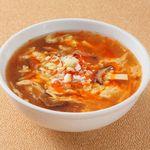 蓮香園 - 特製四川風酸辛スープ