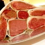 69684227 - お肉のラインナップ♡