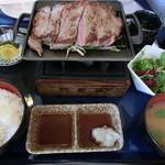 三木セブンハンドレット倶楽部 レストラン - サーロインステーキ御膳