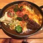 ケロッグ アンド カリー - 柔らか煮込みビーフのオーブン焼きカレー