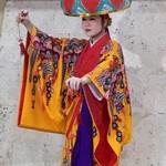 69690322 - 琉球舞踊 四つ竹 撮影掲載了承済