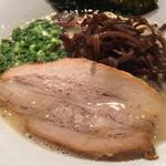 麺屋 鉄風 ミヤマチ - 煮豚
